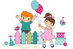 Oslavičky pro dětičky
